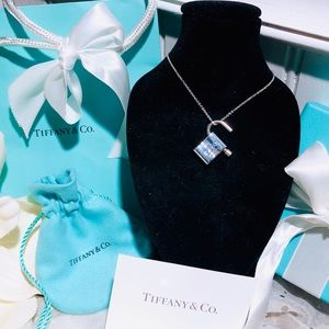 Tiffany & Co. 1837 Collection Padlock Necklace